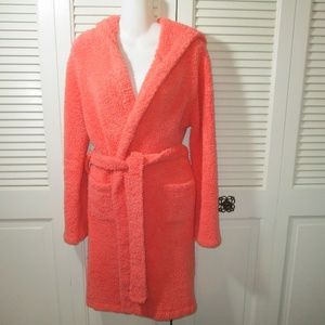 Barefoot Dreams Cozy Chic Coral Robe Size 1(S)